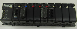 Koyo Direct Logic 205 Plc With H2 wplc1 Cpu And Modules