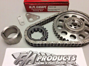 Sa Gear 78533t 9r Chevy Ls Engine Billet Timing Set 5 3l 5 7l 250 Double Roller