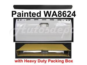 Painted Wa8624 Tailgate Upper Molding Trim For Silverado 3500 2500hd 2008 2014