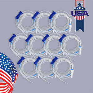 10xdental Disposable Irrigation Tube Hose C Type F W h Surgic Sale