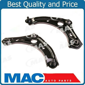 Front Lower Left Right Control Arm W ball Joint Set For Nissan March Micra Versa