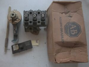New In Box Allen Bradley Disconnect Switch 3 Pole 60a 1494r n60 Series A 313