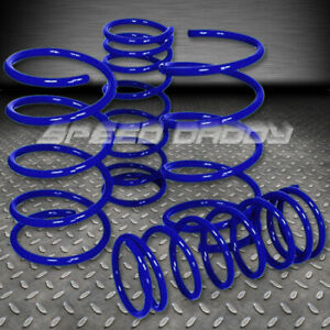 2 Drop Suspension Lowering Springs Fits 95 99 Nissan Maxima Gle Gxe A32 Blue
