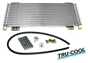 Tru cool Max 40 000 Gvw Transmission Oil Cooler Heavy Duty Towing oc 4739 1