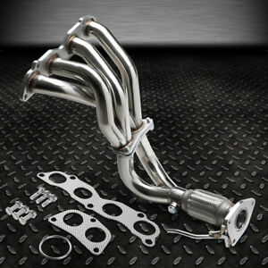 For 03 07 Honda Accord 2 4 K24a4 Shorty Stainless Steel Header Exhaust Manifold