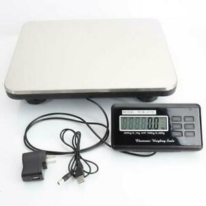 Weight Max Heavy Duty 660 Lb Digital Shipping Postal Scale 300 Kg
