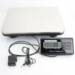 Weight Heavy Duty 660 Lb Digital Shipping Postal Scale 300 Kg