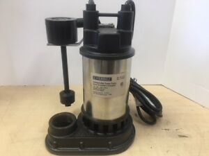 Everbilt 1 2 Hp Submersible Stainless Steel Sump Pump Sp05002vd 6948217021101