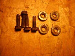 G Body Seat Mounting Bolts W Spacers Tracks Monte Cutlass Regal Grand National