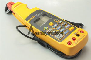 1pc Brand New Fluke 773 Milliamp Process Clamp Meter With Soft Case F773