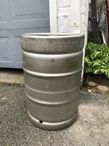 Anheuser Busch 15 5 Gallon Beer Keg Empty Many Uses Rat Rod Tank Table Base