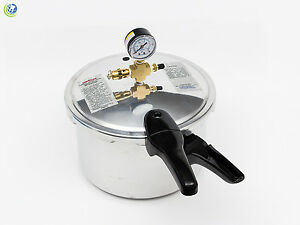 New Dental Laboratory Pressure Pot Pneumatic Curing Vessel 8qt
