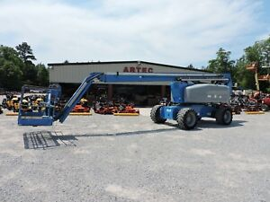 2013 Genie Z80 60 Boom Lift Jlg 80 Reach Articulating Jib Low Hours