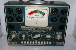 Vintage Jackson Dynamic Tube Tester Model 103 Checker Radio Rare