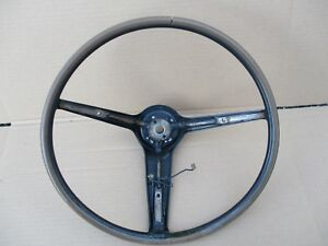 1970 1971 1972 Mustang Mach 1 Cougar Xr7 Rimblow Steering Wheel Needs Restore