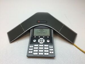 Polycom Soundstation Ip 7000 Conference Phone 2201 40000 001 Works Fair Cond
