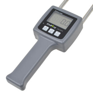 Lcd Digital Grain Moisture Meter Tester 6 30 Measurement 25 Kinds