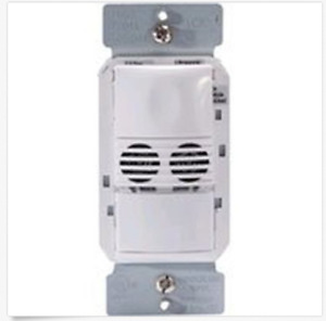 Watt Stopper Dual Tech Wall Switch Sensor Dw 100 w Motion Sensor White