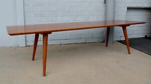 Mid Century Paul Mccobb Winchendon Planner Group Maple Bench Coffee Table