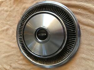 1971 Lincoln Mark Continental Hubcaps Wheel Covers Center Caps Vintage