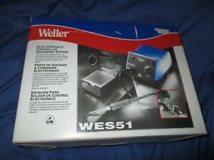 Weller Analog electronically Controlled Soldering Station gun Wes51
