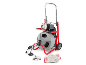 Ridgid 115 Volt K 400 Drum Machine With C 45iw 1 2 In Integral Wound Cable