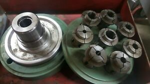 B42 Style Speed Collet Chuck Lathe Machinist Used Made In Usa 1 3 8 8 Spindle Tg