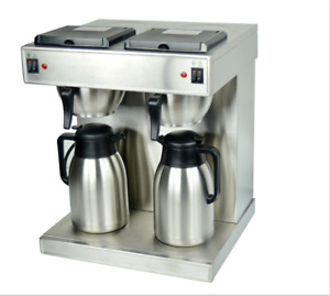 Hakka Commercial Air Pot Coffee Brewer And Coffee Maker 220 60 plug Exchangeable