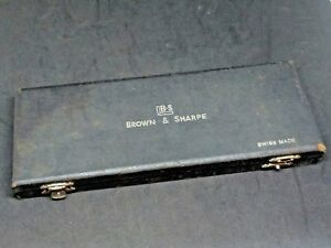 Brown And Sharpe No 577 Caliper 7 Inch W original Case