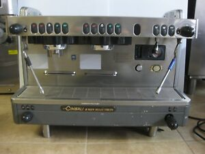 Commercial Coffee Bar 2 Group Lacimbali M29 Selectron