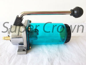 Super Crown Hand Manual Pump 4cc One shot Hand Oiler Bridgeport Type Lt 4 Cnc