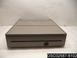 Ibm 4800 e42 Pos System Cash Drawer 41j7674 Top Half Only No Keys