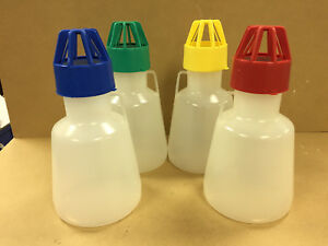 Ibi Scientific Tunair No baffle 2 5l Shake Flask Ss 8001 Set Of 4 With Lids