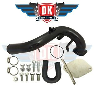 Black Gm Duramax 6 6l Lmm 2007 5 2010 Egr Delete Kit With High Flow Intake