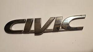 2000 Honda Civic Rear Trunk Lid Emblem Logo Badge Sign Symbol 96 97 98 99