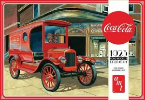 AMT 1:25 Coca Cola 1923 Ford Model T Delivery Model Kit AMT1024