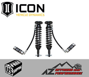 Icon Front Remote Reservoir Coil Over Shock Kit 2014 Ford F150 4wd