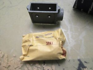 Lot Of 4x Honeywell Microswitch 3pa1 Limit Switch Enclosure Housings 4 n 6