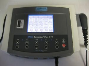 Mettler Sonicator Plus 940 Four Channel Combination Unit W Touch Screen