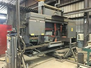 Controlled Automation Whitney Hem Automated 30 Structural Steel Beam