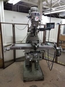 2000 Sharp Tmv 1 With 3 axis Dro Cnc Knee Mill Ref 7794251