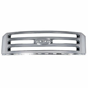 Oem New Front Radiator Grille Chrome 2007 2014 Ford Expedition 7l1z 8200 ba