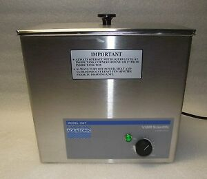 Vwr Scientific Aquasonic 150t Ultrasonic Cleaner Mint W Warranty