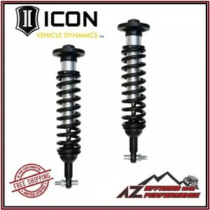 Icon Vehicle Dynamics Front Coil Over Shock Kit 2009 2013 Ford F150 4wd