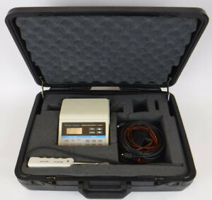 Barnant Temperature Humidity Logger 691 9000 With Probe Case Working
