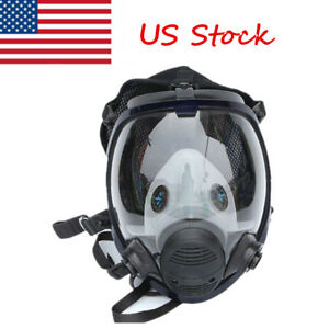 Us 6800 Dust Facepiece Respirator Gas Mask Full Face Painting Spraying