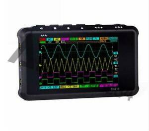 Arm Dso203 Nano V2 Quad Pocket Digital Oscillo scope With Plastic Case Usb New