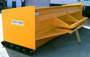 14 Snow Hawg Snow Pusher Plow For Wheel Loader