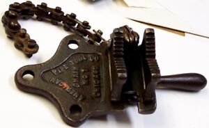 American Pipe Tool Co Chain No 1 Bench Vise
