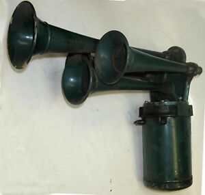 Sparton 4 Trumpet Musical Horn Off 20s 30s Classic Car Packard Cadillac Model T